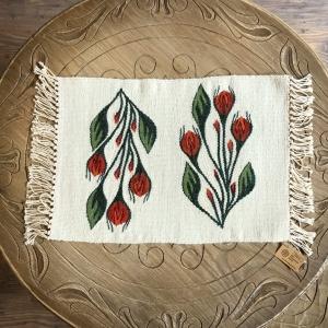 Carpetă 45x30 cm motiv boboci de trandafiri [0]