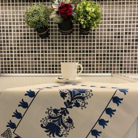 Șervet de bucătărie - Flori transilvănene3