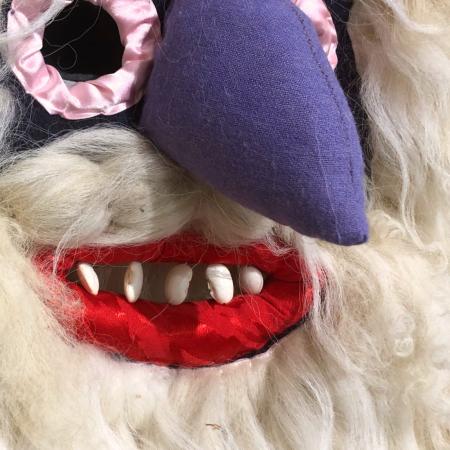 Mască decorativă tradițională model 17