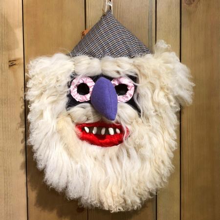Mască decorativă tradițională model 15