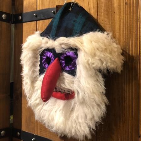 Mască decorativă tradițională model 41