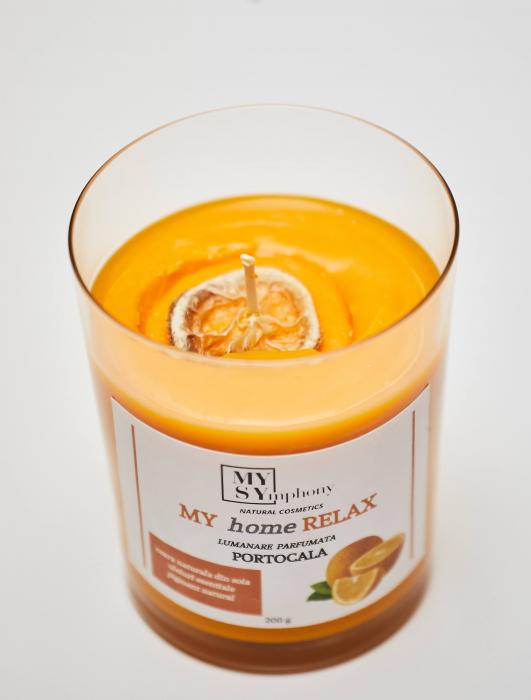 Lumânarearomată,portocale 0