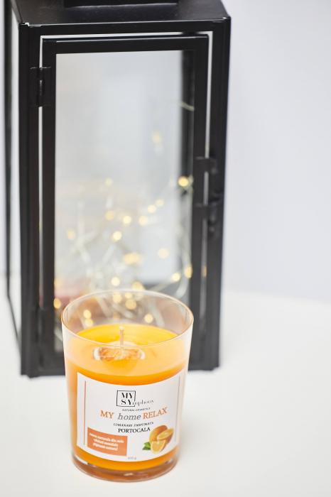 Lumânarearomată,portocale 1