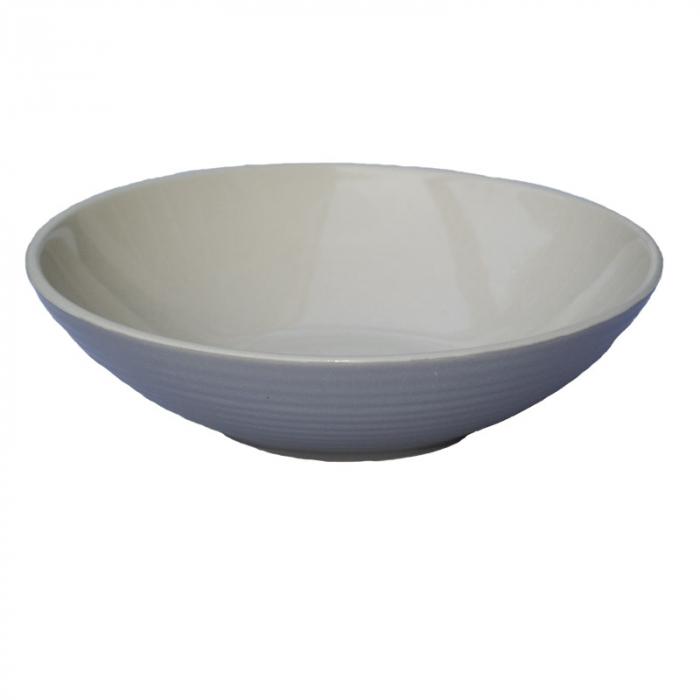 Bol de ceramica aspect mat gri 0