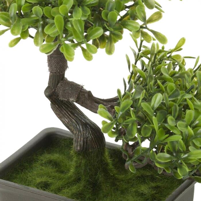 Bonsai artificial 23cm verde deschis 10