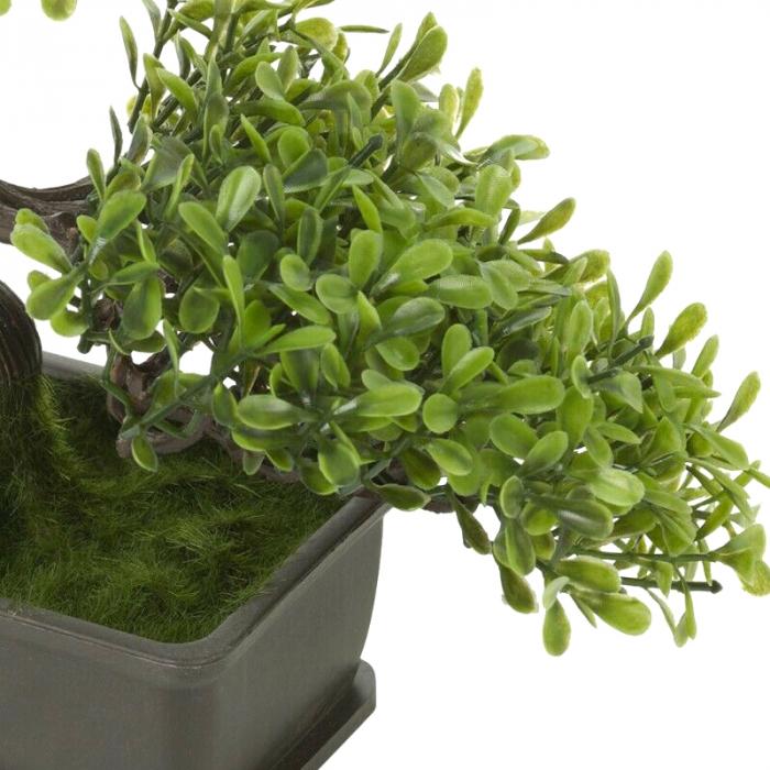 Bonsai artificial 23cm verde deschis 8