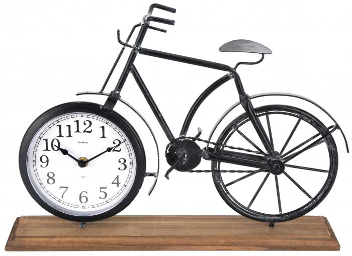 Ceas metal model bicicleta 41,5 X 10 X 29 cm 2