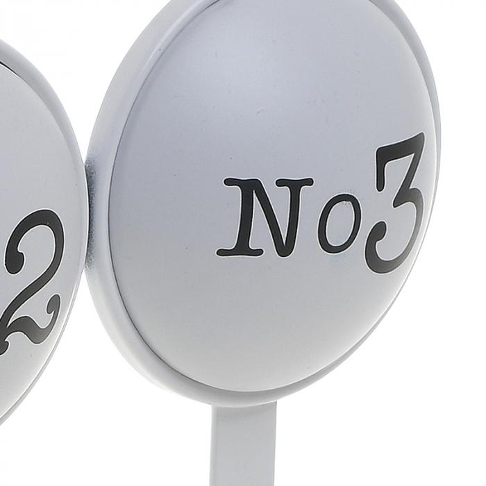 Cuier metal cu 3 carlige pentru usa 26X4X28 cm No 1 2 3 [5]