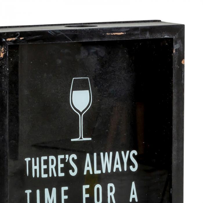 Cutie decor, pentru dopuri de Sticla Vin, 45x21 cm 2