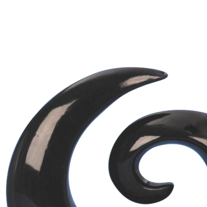 Decoratiune spirala 16 cm culoare neagra 3