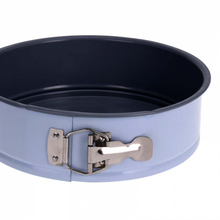 Forma tort din Otel inoxidabil, diametru 24cm, inaltime 6.8cm, 1600ml, Bleu 3