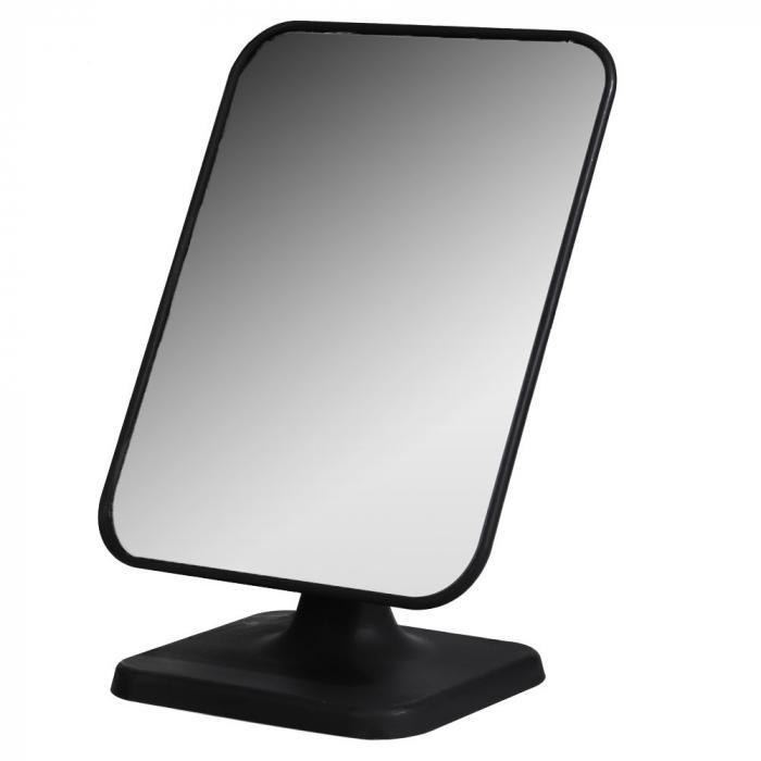Oglinda cu picior Dim 15x21x11cm , oglinda 14.5x19 cm rama neagra 0