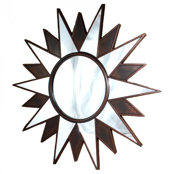 Oglinda forma stea 55cm rama plastic [0]