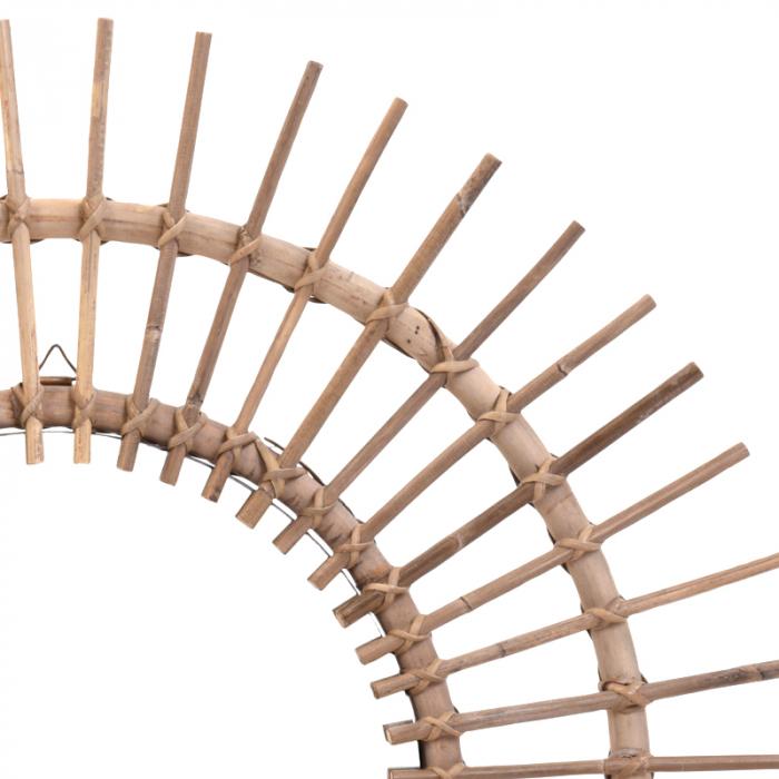 Oglinda rama ratan kubu, Diametru 90 cm, Maro, G 2.5 kg 3