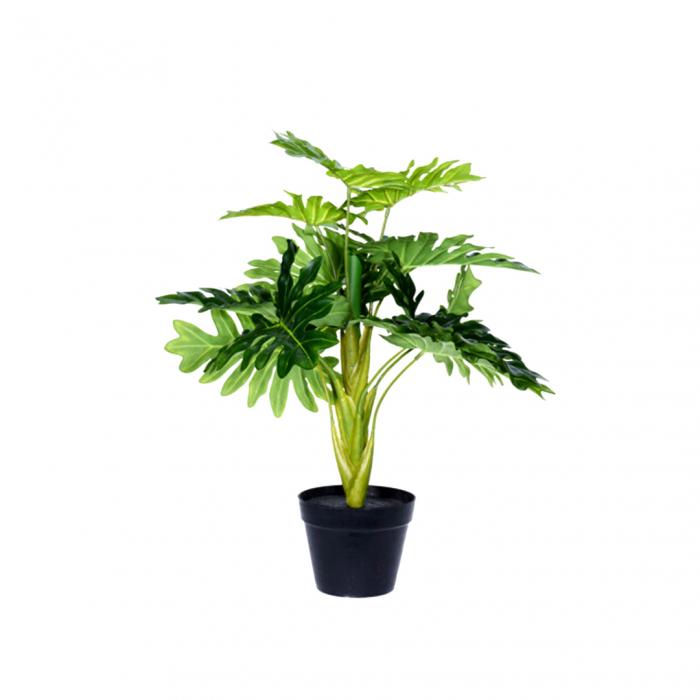 Planta artificiala in ghiveci, Guembe, inaltime 60 cm [0]