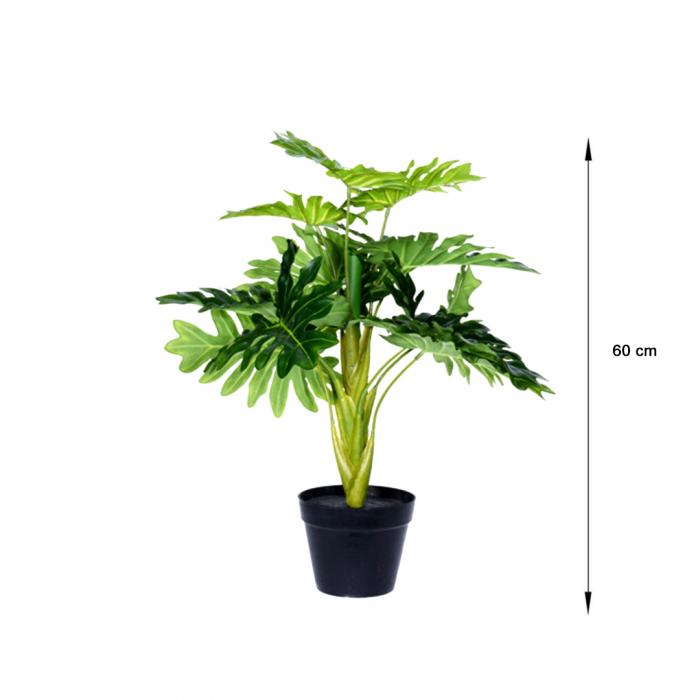 Planta artificiala in ghiveci, Guembe, inaltime 60 cm [1]