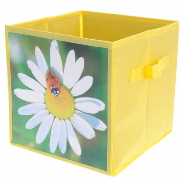 Cutie depozitare cu model floare 0