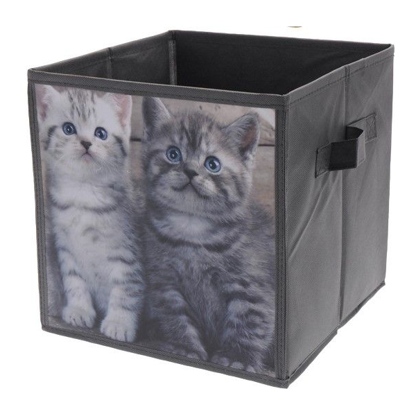 Cutie depozitare cu model pisici 0