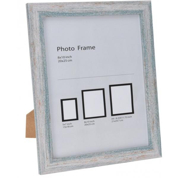 Rama foto lemn 24x29cm verde 0