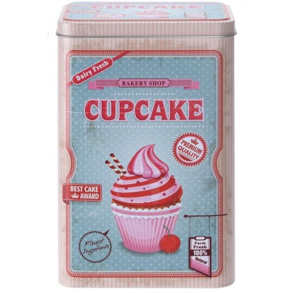 Cutie metalica depozitare Cupcake 0