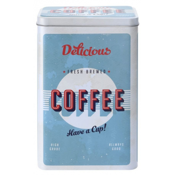 Cutie metalica depozitare Coffee 0