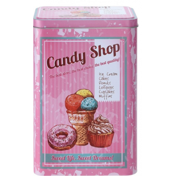 Cutie metalica depozitare Candy Shop 0