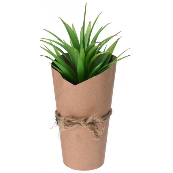 Planta artificiala in ghiveci ambalat in carton, 20.5 cm 0