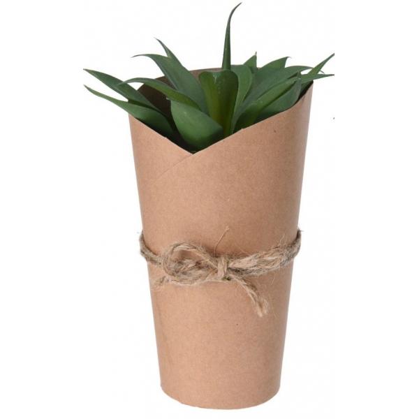 Planta artificiala 20cm in ghiveci ambalat in carton 0