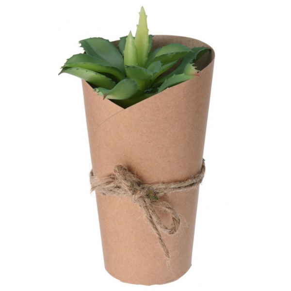 Planta artificiala 20cm in ghiveci ambalat in carton 0