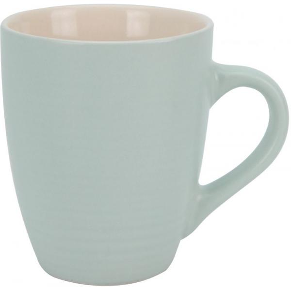 Cana ceramica cu aspect mat bleu 0