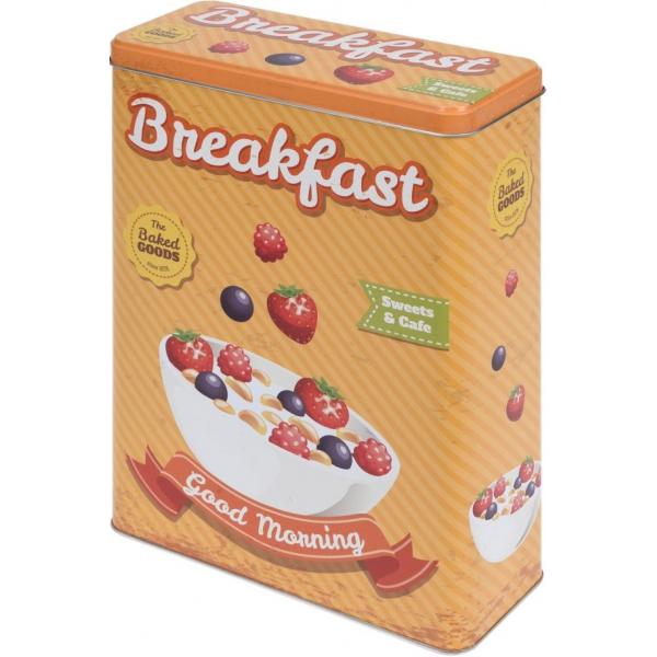 Cutie metalica depozitare Breakfast 0