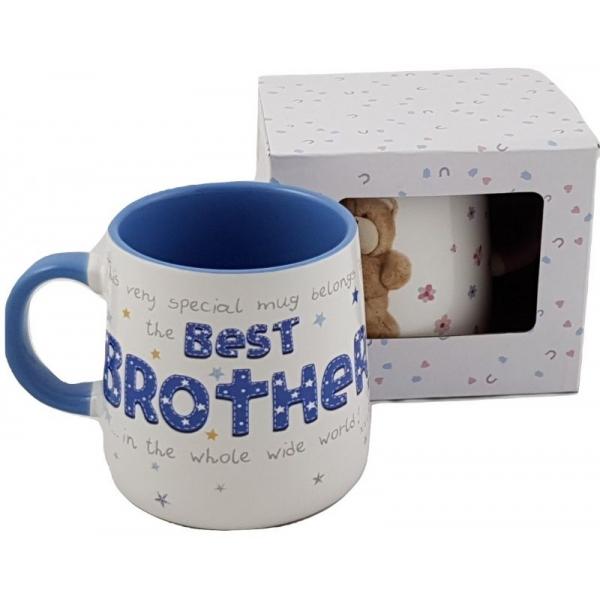 Cana ceramica model ursulet cu mesaje brother 0