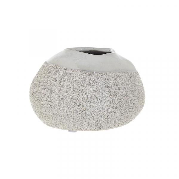 Vaza ceramica 10 cm culoarea fildes 0