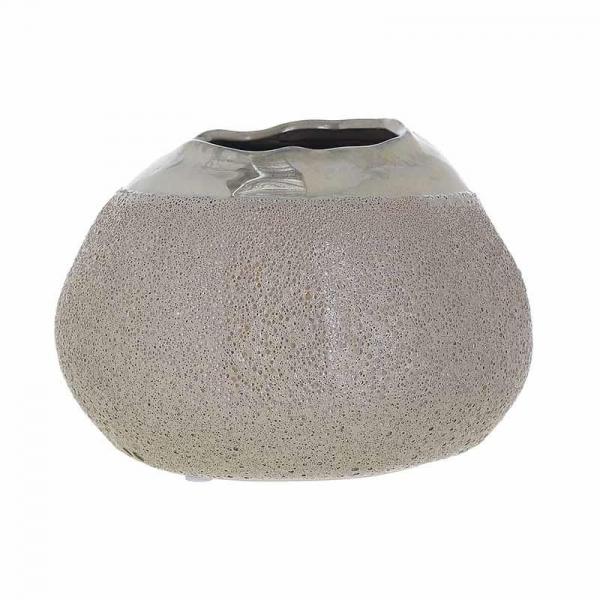 Vaza ceramica 12.5 cm culoarea bej 0
