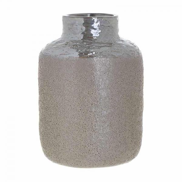 Vaza ceramica 24.5 cm culoarea bej 0