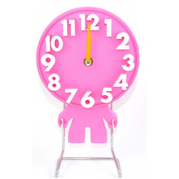Ceas masa omulet d18cm roz cu corp 0