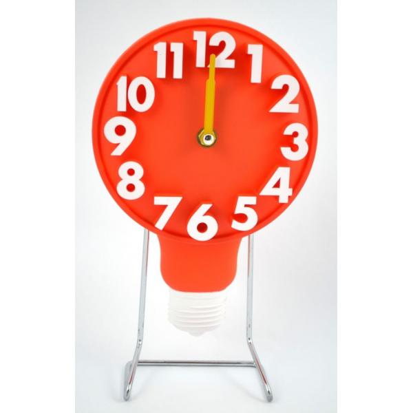 Ceas masa omulet d18cm portocaliu cu bec 0