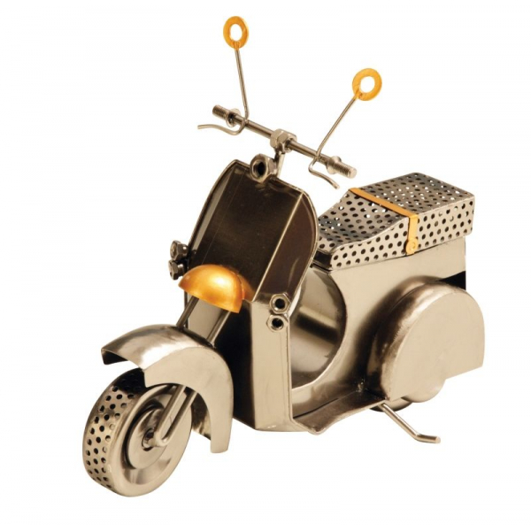 Decoratiune Metal, model Scooter, stil modern, NAGO, H 21.5 cm, Alama 0