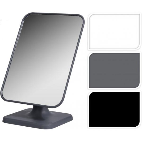 Oglinda cu picior Dim 15x21x11cm , oglinda 14.5x19 cm rama gri 1