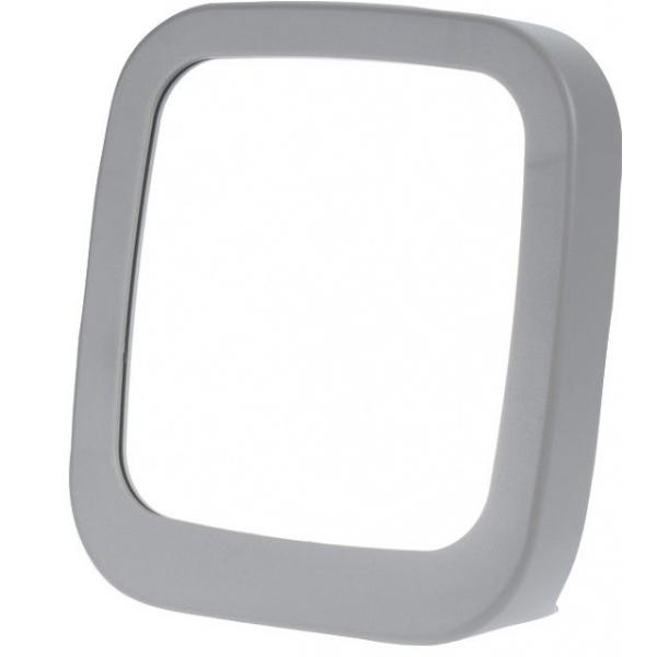 Oglinda machiaj rama gri 18.5x19.5cm [0]