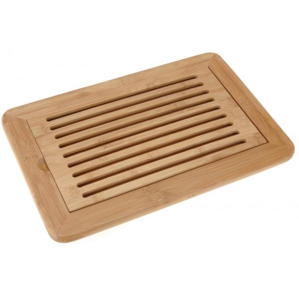 Tocator pentru paine din bambus 38x24x2cm 0