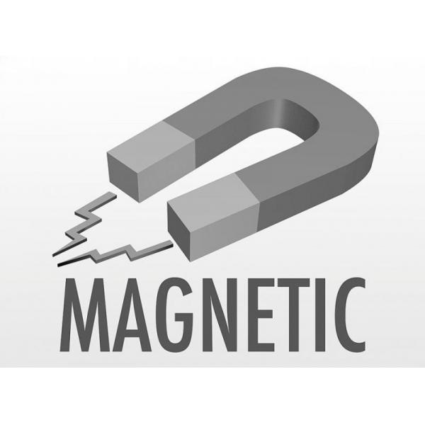 Clepsidra magnetica 6x15 cm pe suport lemn 3