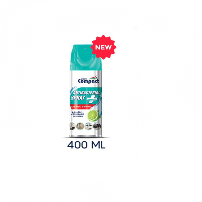 Spray Antibacterian, Lime, Ultra Compact, 400 ml 4