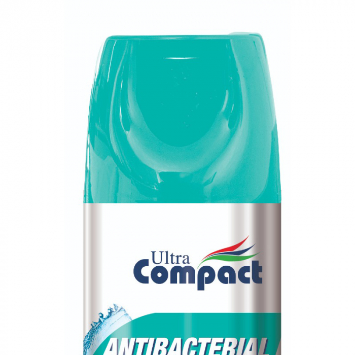 Spray Antibacterian, Lime, Ultra Compact, 400 ml 2