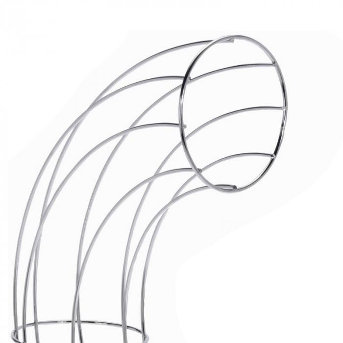 Cos din melat cromat, pentru organizarea Portocalelor, 44cm x 31cm x 11 cm 3