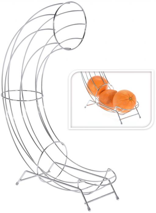 Cos din melat cromat, pentru organizarea Portocalelor, 44cm x 31cm x 11 cm 1