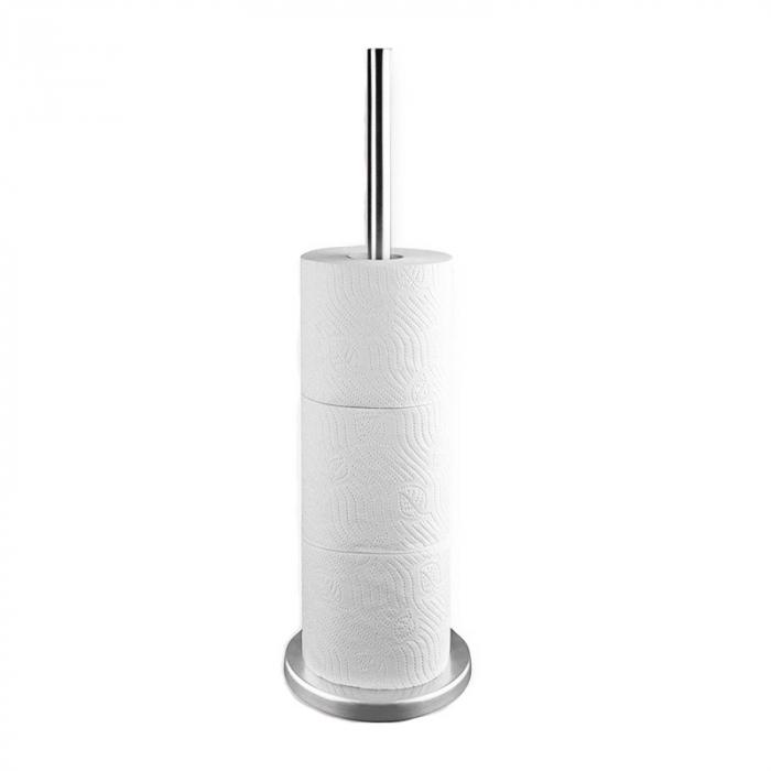 Suport hartie igienica inox H45cm 1