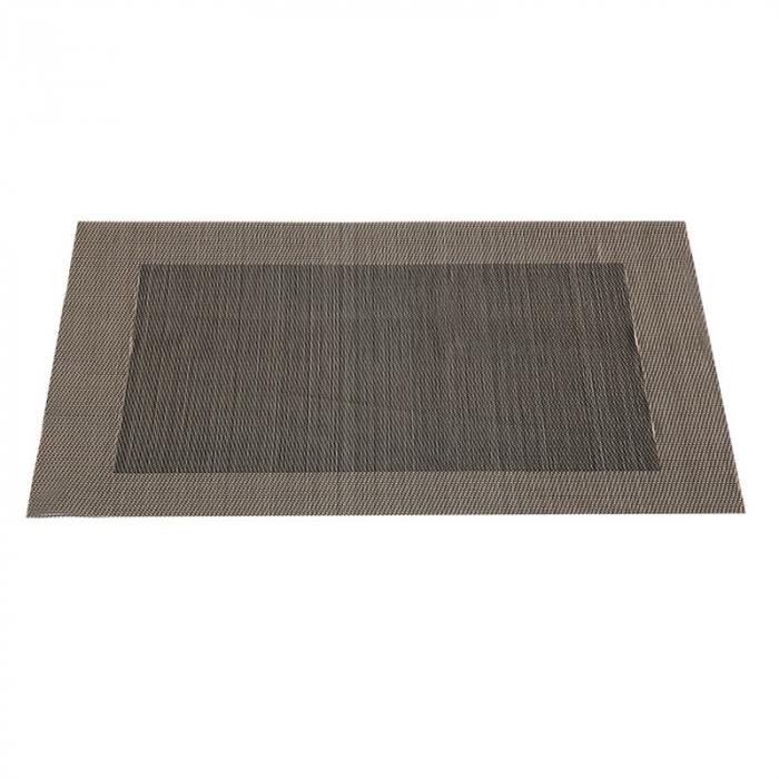 Table mat negru cu auriu 0
