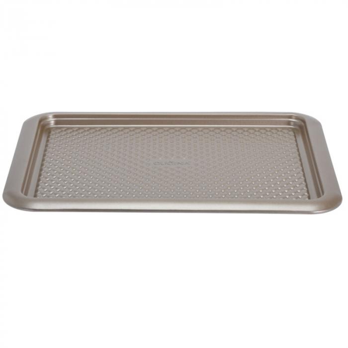 Tava cuptor otel inoxidabil, 37X28X1.6 cm, 600 ml, culoare Bej [0]