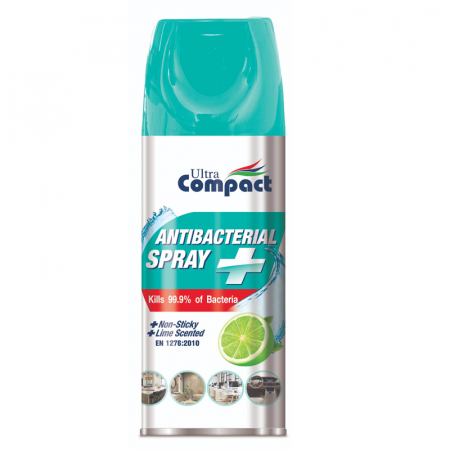 Spray Antibacterian, Lime, Ultra Compact, 400 ml0